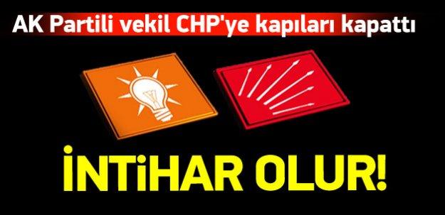 AK Partili Külünk: CHP ile koalisyon intihar olur
