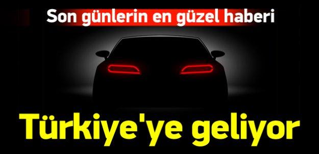 Alman otomotiv devi Türkiye'ye geliyor