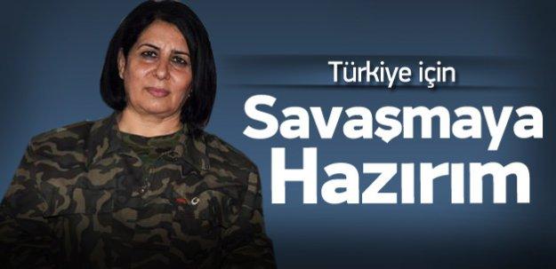 Azeri kadın yüzbaşı: Türkiye için savaşırım
