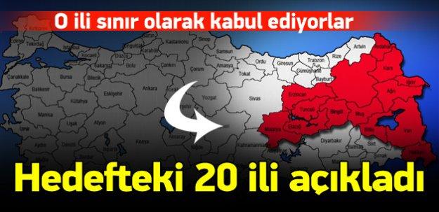 Bahçeli PKK'nın hedefindeki 20 ili açıkladı