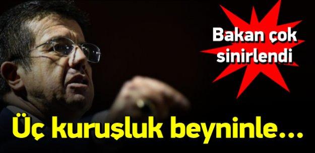Bakan Zeybekci'den o gazeteye çok sert sözler
