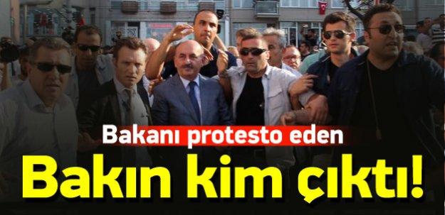 Bakanı protesto eden DHKP-C'li çıktı