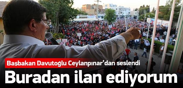 Başbakan Davutoğlu'dan önemli açıklamalar