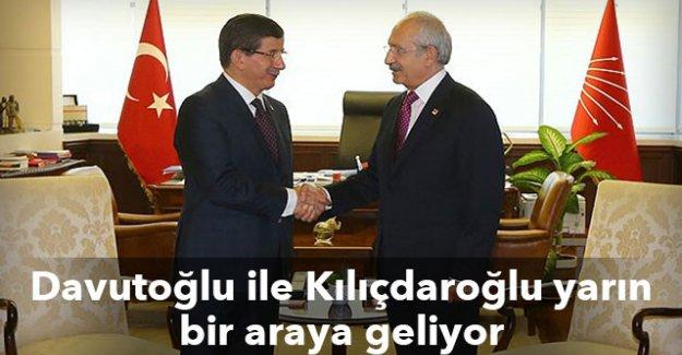 Başbakan Davutoğlu ile Kemal Kılıçdaroğlu yarın bir araya geliyor