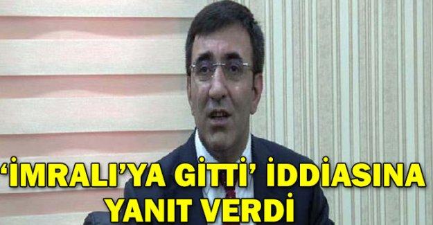 Başbakan Yardımcısı Yılmaz, Öcalan'la ilgili iddiaya yanıt verdi