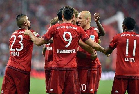 Bayern Münih 'farklı' başladı