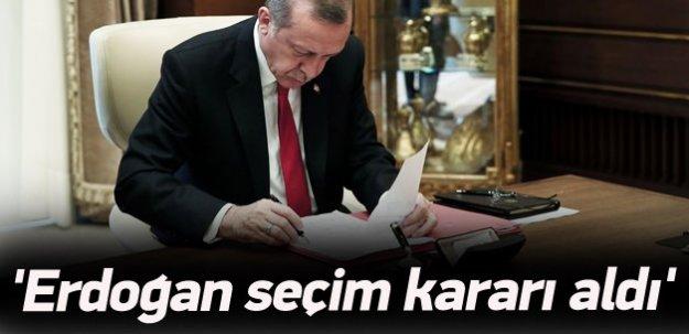 Burhan Kuzu açıkladı: Erdoğan seçim kararı aldı