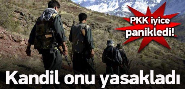 Büyük kayıplar sonrası PKK yasakladı