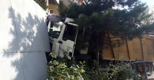 Çankaya Köşkü yakınında kamyon dehşeti!