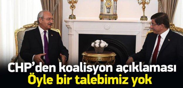 CHP'li Özel: Koalisyon olmasını istiyoruz