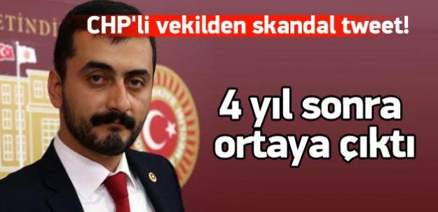CHP'li vekilden skandal tweet!