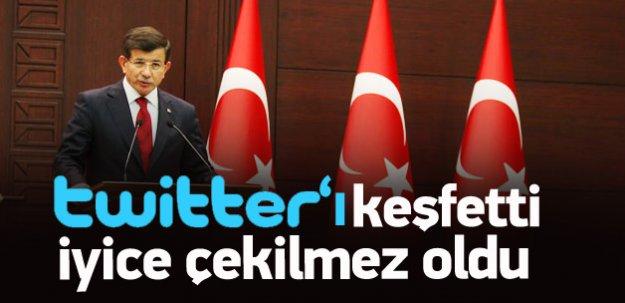 Davutoğlu'ndan Bahçeli'ye Twitter eleştirisi
