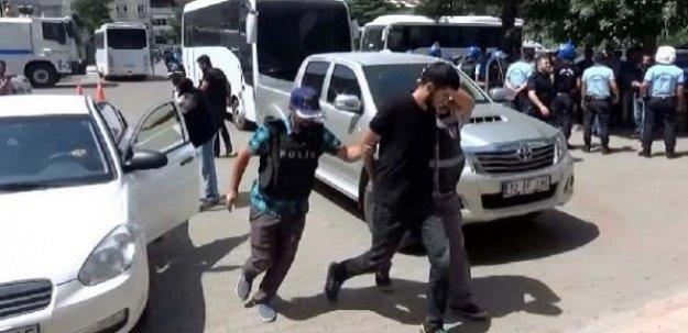 DBP'li başkan ve 6 kişi tutuklandı