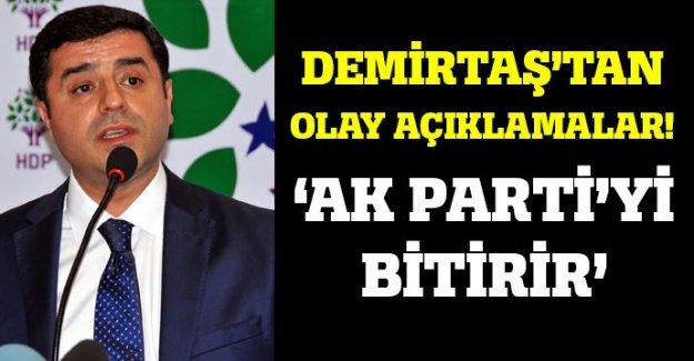 Demirtaş'tan olay PKK açıklaması!
