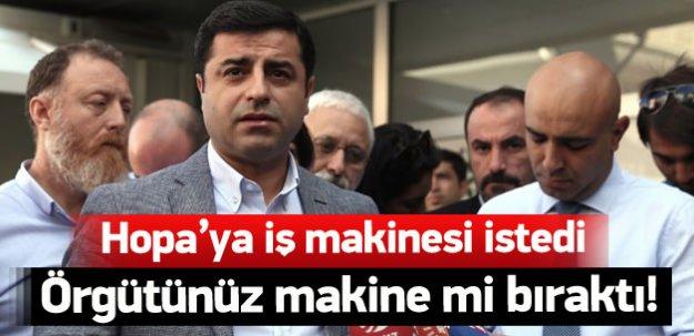 Demirtaş'tan skandal çağrı