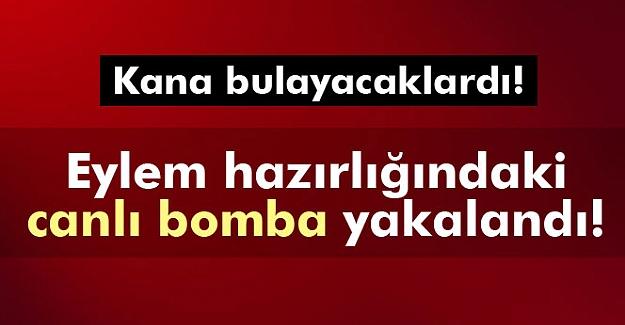Diyarbakır'da eylem hazırlığında olan canlı bomba yakalandı