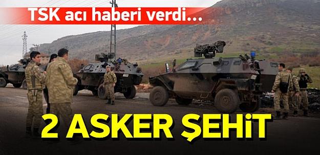 Diyarbakır Hani'de çatışma: 2 asker şehit