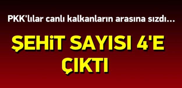 Diyarbakır Lice'de şehit sayısı 4'e yükseldi