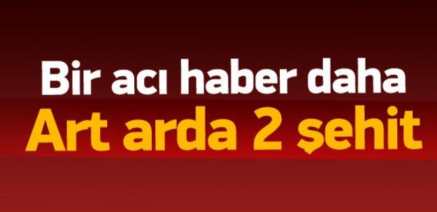 Diyarbakır ve Şırnak'ta 2 şehit