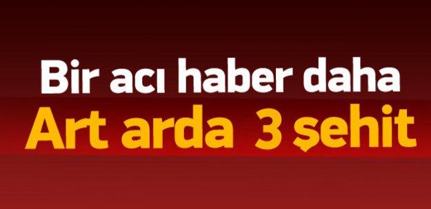 Diyarbakır ve Şırnak'ta 3 şehit