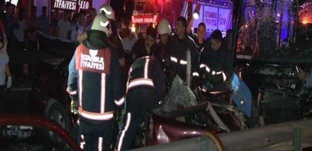 E5 Karayolu'nda feci kaza: 3 ölü, 9 yaralı
