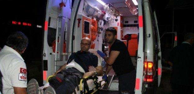 Emniyet müdür yardımcısı ayağından vuruldu