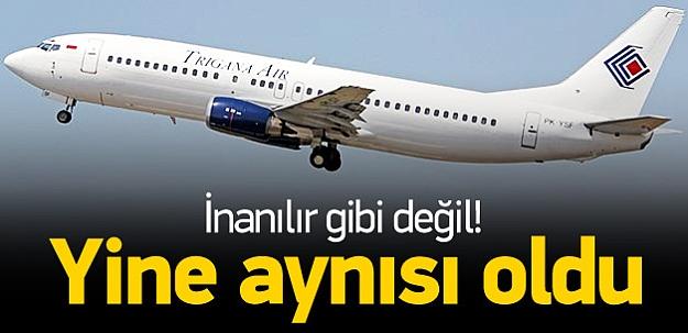 Endonezya'da yolcu uçağıyla irtibat kesildi