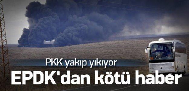EPDK'dan kötü haber: Terör enerjiyi de vurdu