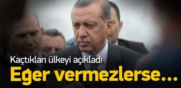 Erdoğan: Almanya Zekeriya Öz'ü vermezse...