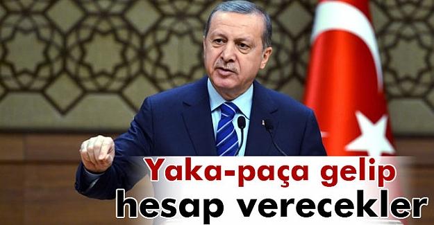 Erdoğan Beştepe'de muhtarlara hitap ediyor