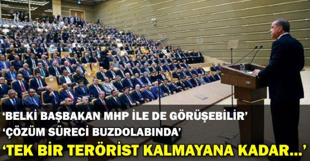 Erdoğan'dan flaş mesajlar