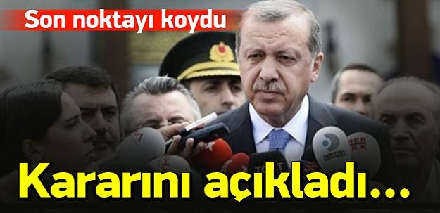 Erdoğan: Türkiye'yi erken seçime götüreceğim