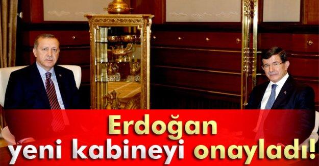Erdoğan yeni kabine listesini onayladı!