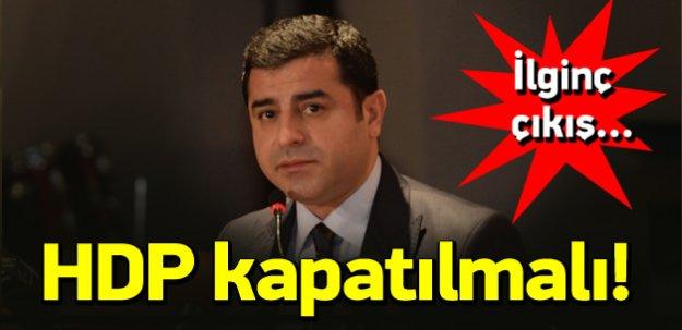 Eski Bakan Ufuk Söylemez: HDP kapatılmalı