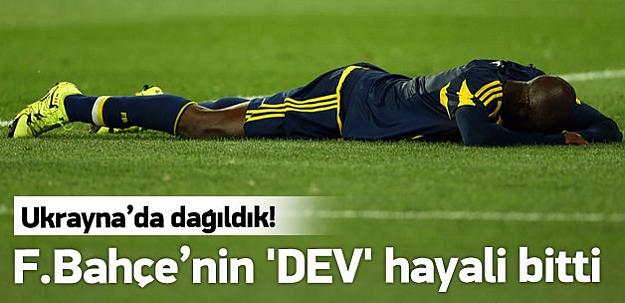 Fenerbahçe'nin 'DEV' hayali bitti