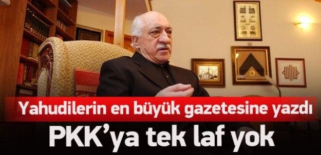 Fethullah Gülen PKK'yı eleştiremedi