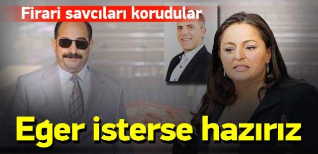 Firari savcıları koruyup Erdoğan'a hakaret ettiler