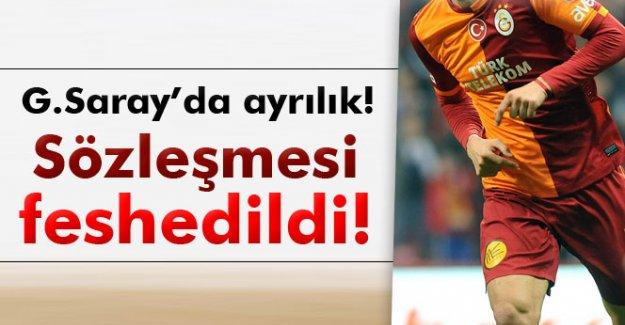 Galatasaray, Yekta'nın sözleşmesini feshetti