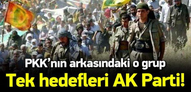 Göktürk: PKK'nın arkasındaki o grup!