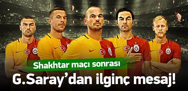 G.Saray'dan Fenerbahçe'ye gönderme!