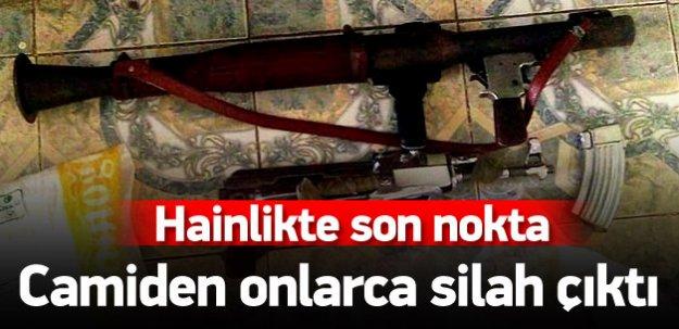 Hainler şaşırtmadı: PKK camiyi üs olarak kullanmış