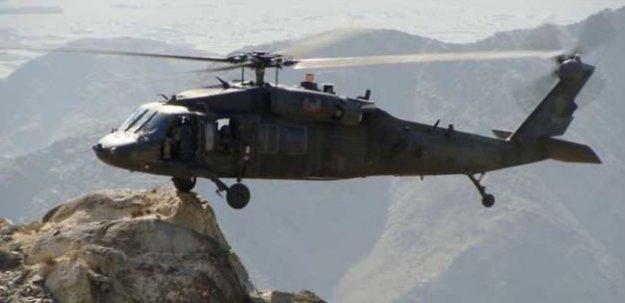 Hakkari'de askeri helikoptere saldırı