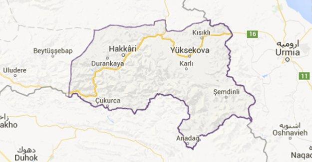 Hakkari'de patlama: 3 yaralı
