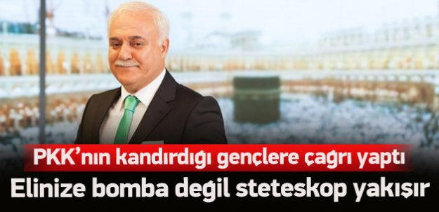 Hatipoğlu'ndan PKK'nın kandırdığı gençlere çağrı