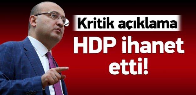 HDP ihanet etti adaya gidemez