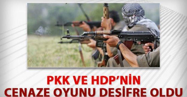 HDP ve PKK'nın 'cenaze' oyunu ifşa oldu