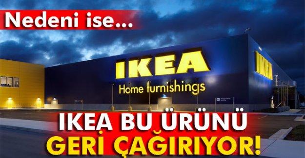 IKEA çocuklar için ürettiği lambaları geri çağırıyor