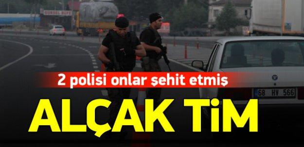 İki polisi PKK'nın suikast timi şehit etmiş