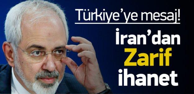 İranlı Bakandan 'Zarif' ihanet