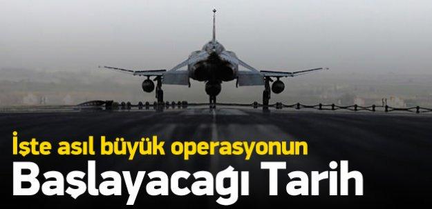 IŞİD'e asıl büyük operasyonun başlayacağı tarih!